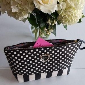 NWT Betsey Johnson Cosmetic/Clutch Bag